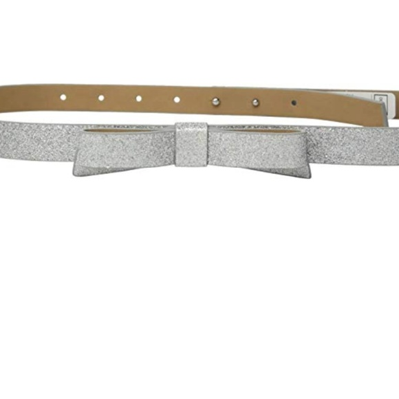 Kate Spade New York Womens Classic Bow Belt
